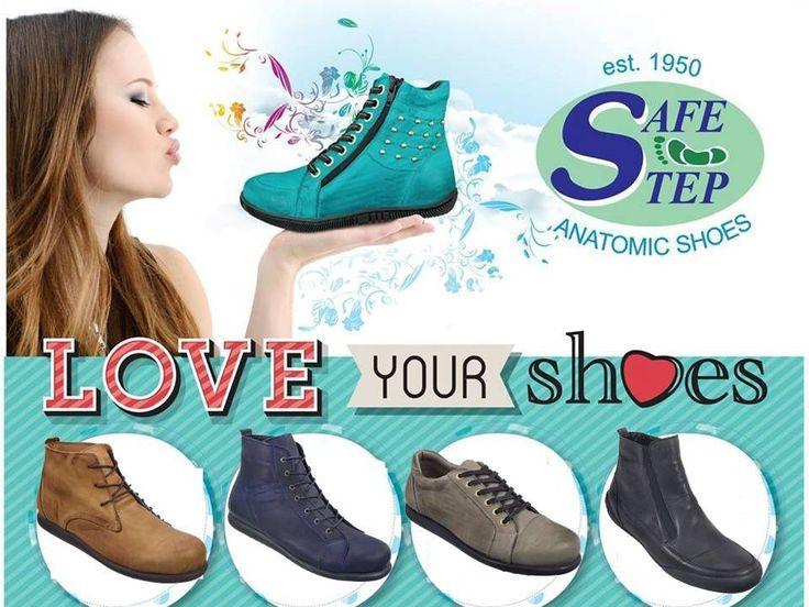 Love your Shoes! #safestep #anatomika upodimata