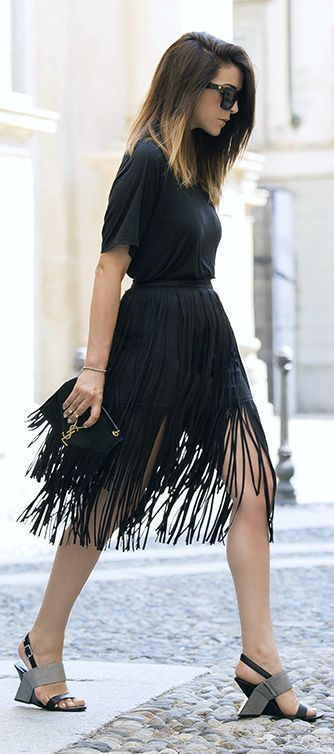Fringe Accent Summer Style by Scent Of Obsession