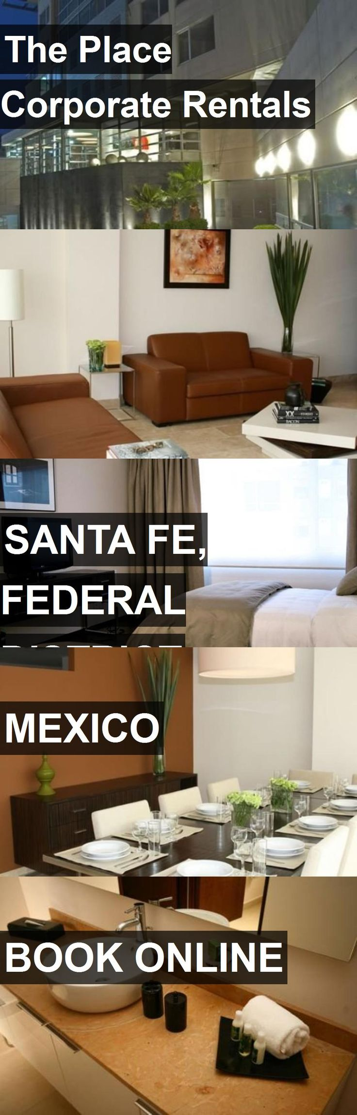 Hotel The Place Corporate Rentals in Santa Fe, Federal District, Mexico. For more information, photos, reviews and best prices please follow the link. #Mexico #SantaFe,FederalDistrict #travel #vacation #hotel
