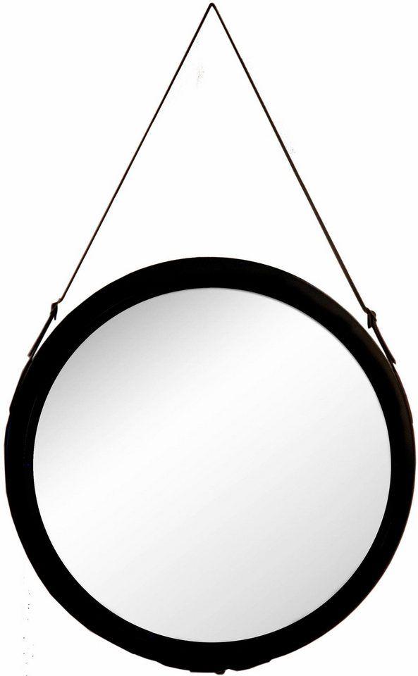 Cute G uC Spiegel mit einer Aufh ngung aus Kunstleder