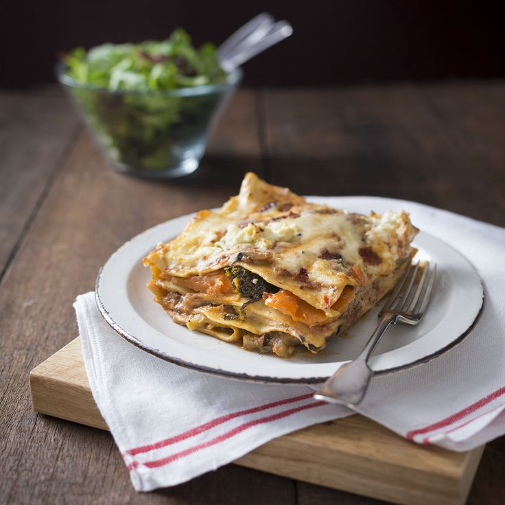Vegetable lasagne   Thermomix   Vegetarian Kitchen cookbook and recipe chip   p. 109  