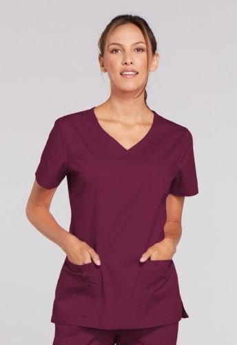 ec0f68687f9 eBay #Sponsored Cherokee 4727 Scrubs Workwear V-Neck Top Womens Medical  Nurse WINZ XXS FREE S