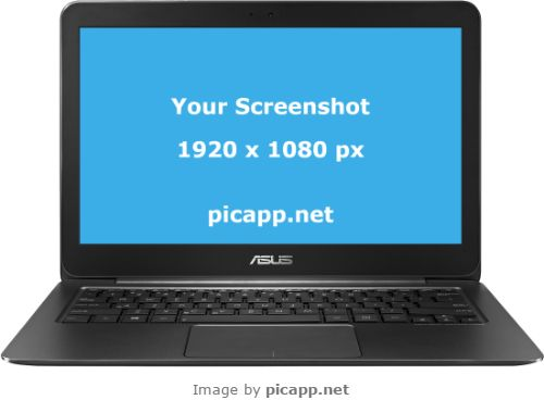 You can put your screenshot inside this Asus Zenbook UX305 easy and fast with Picapp.net. You can do this in just few minutes and then download your work for free. Picapp.net it is an online tool which makes your life easier.  #nobackground  #mock #asusZenbookUX305 #asus #black