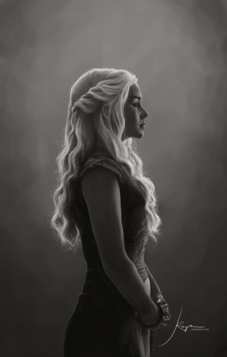 The Khaleesi: Stunning Artwork by hobomotion