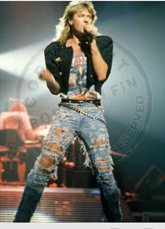 Joe Elliott. And I had those jeans, seriously!