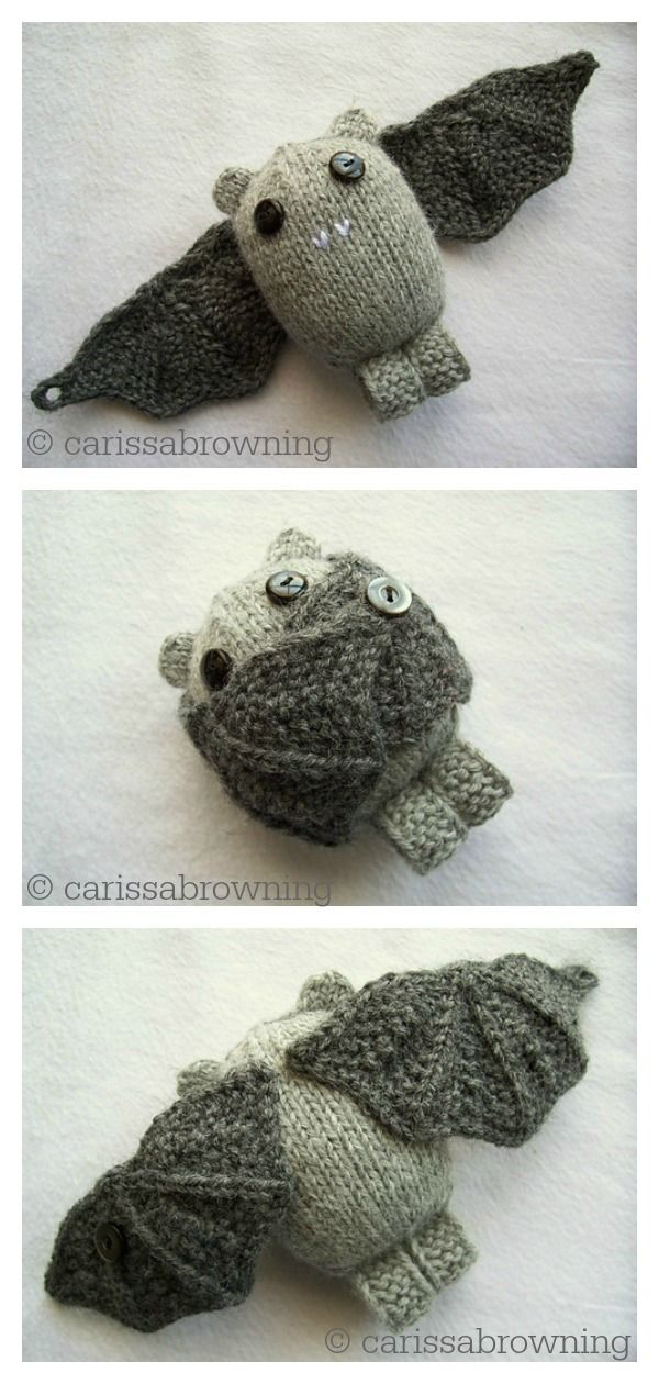 10 Adorable Amigurumi Bat Crochet Pattern Free & Paid | 1260x600