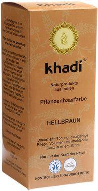 Khadi® Tinta Vegetale - Castano Chiaro, 100 g   Ecco Verde