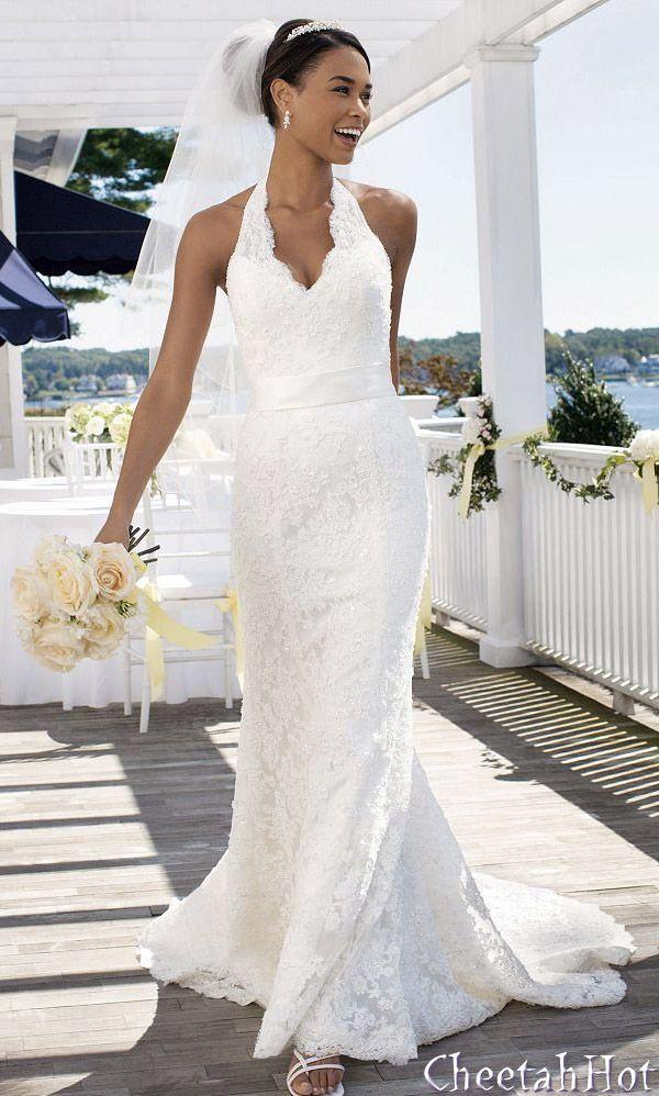 24 best dress images on Pinterest   Davids bridal, Wedding dressses ...