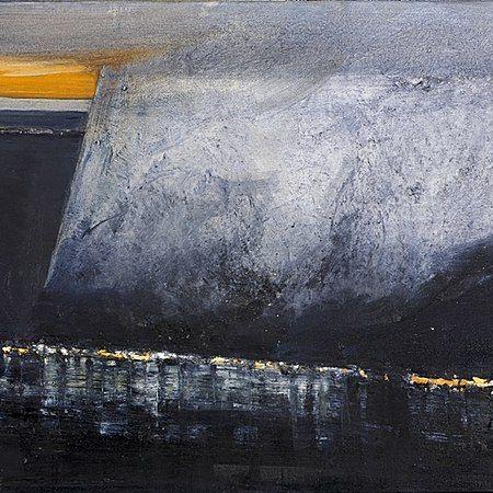 Ørnulf Opdahl: Bygd, 2015, 80 x 100 cm