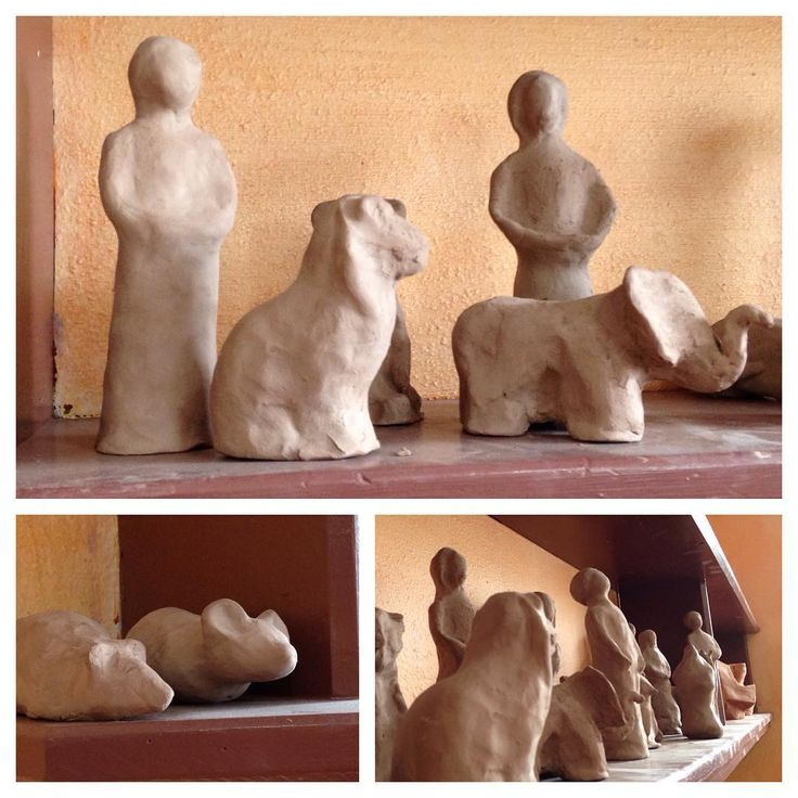 Man and Animal Archetypal Sculptures #waldorfeducation #waldorfcurriculum