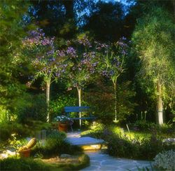 landscaping lighting services by memphis landscaping