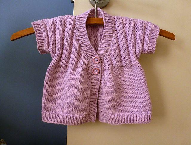 Ravelry: Little Sunshine Cardie pattern by Sue Batley-Kyle