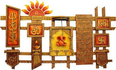 Satguru S Sun Lord Ganesha Vaastu Oriented Mural Wall Hanging Size ...