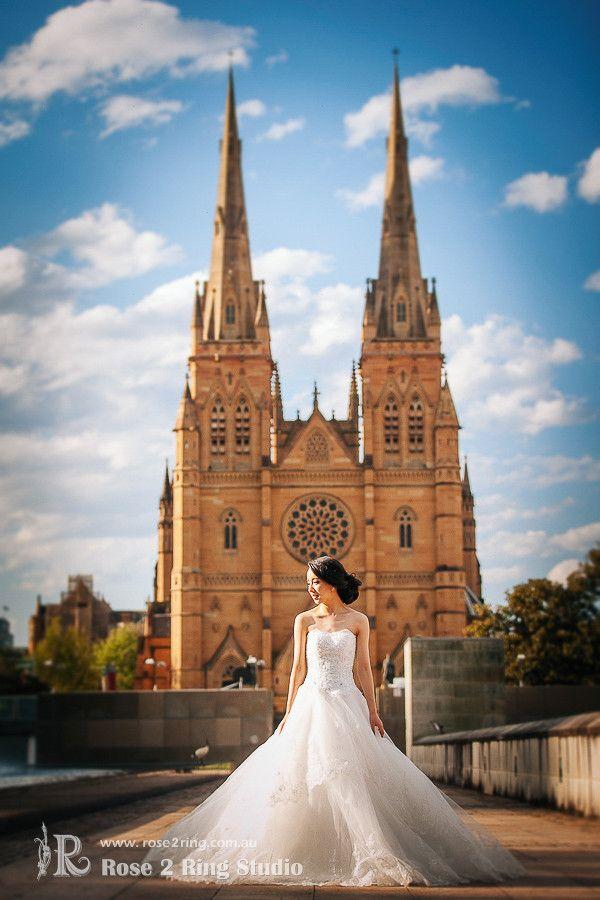 Rose 2 Ring Studio Sydney | Asian Style Pre-wedding Photography | Xu Lu Pre Wedding Photo Sydney