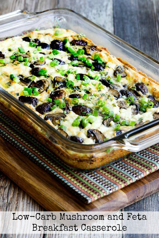 ... Mushroom and Feta Breakfast Casserole | Feta, Breakfast and Casseroles