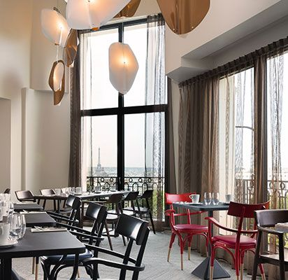 News Parisiennes   Novembre 2015: Eric Lurthy, Nouveau Chef Du Restaurant  Panoramique Du Terrass
