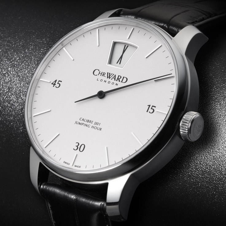 C9 Harrison Jumping Hour MKII, Limited Edition, Black Strap - Chr Ward