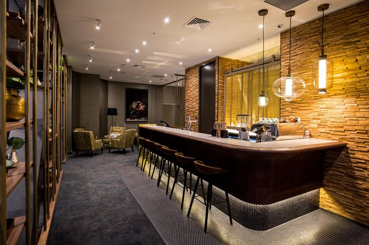 Sofitel, Wellington | Designer Wall Finishes in Wood, Brick, Metal and Concrete | VIDASPACE