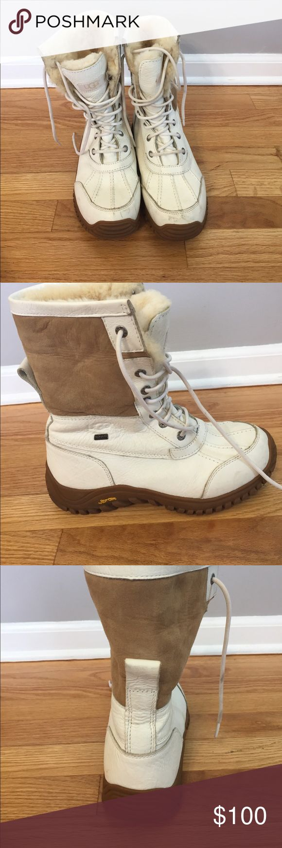 Ugg white snow boots Good condition UGG Shoes Winter & Rain Boots