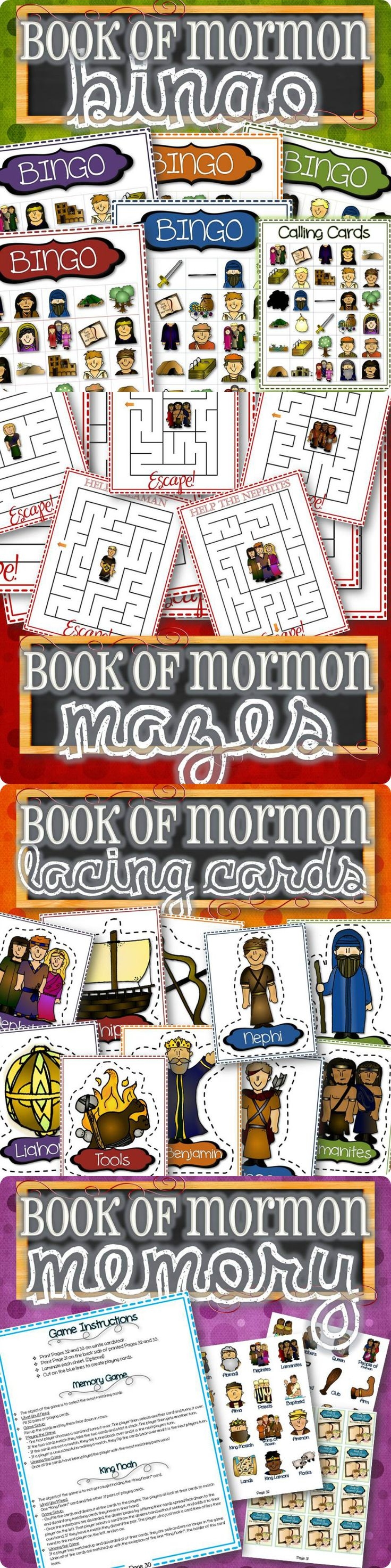 LDS activities and games for kids!