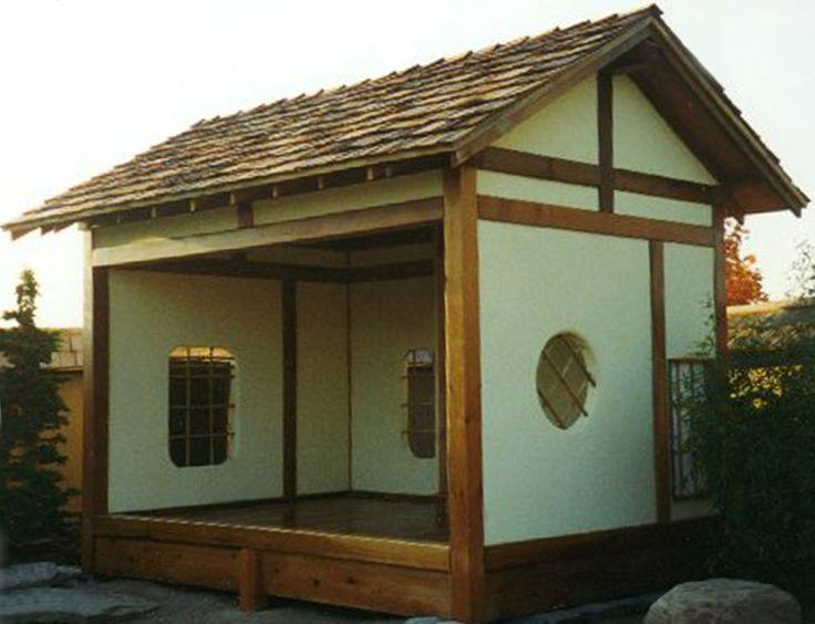 Japanese garden design plans japanese style garden for Japanese style garden house