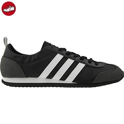 Adidas - VS Jog - BB9677 - Farbe: Graphit-Schwarz-Weiß - Größe: 48.0 - Adidas schuhe (*Partner-Link)