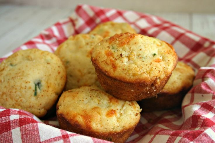 Mexican Cornbread Muffins - moist and cheesy and with just the right amount of spice!
