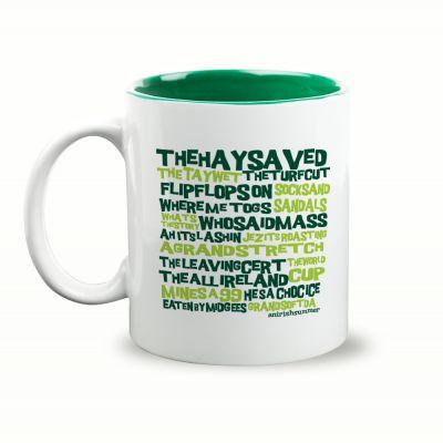 An Irish Summer Gift Mug & Box by HairyBaby.com