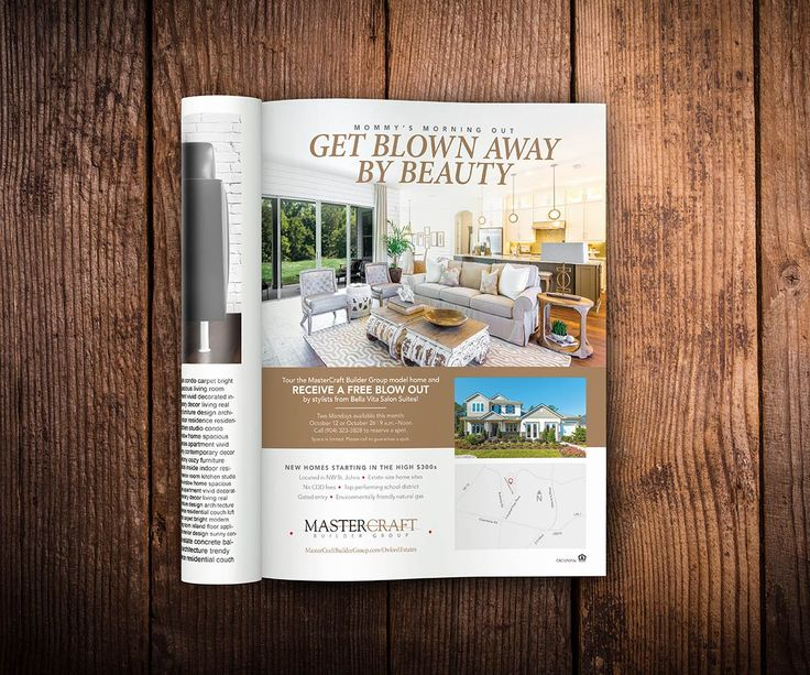 MasterCraft, Magazine Ad Design, Print Collateral · Home BuilderReal ...