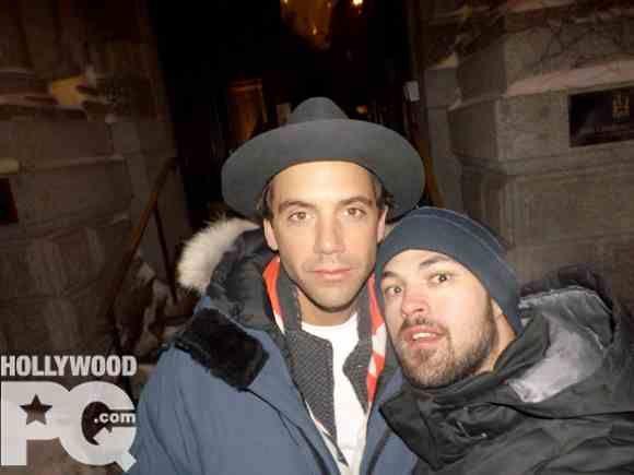 Mika and fan Montreal Feb 2015