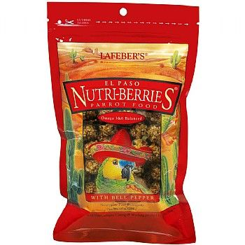 Get 20% off El Paso Nutriberries for African Grey Day and buy yours for £6.99.