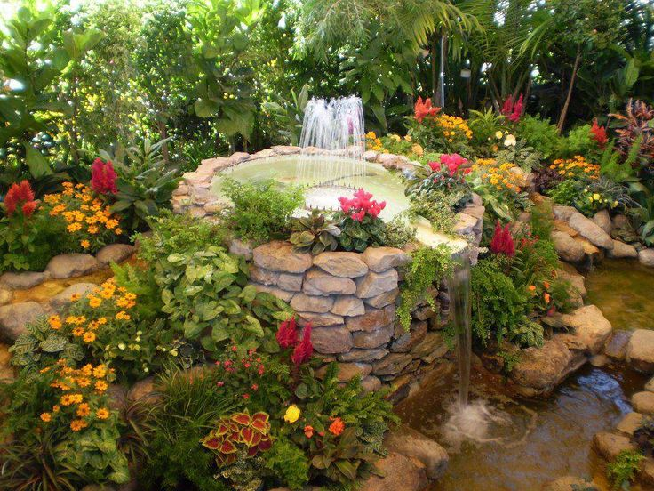 Back yard flower gardens bing images water gardening for Beautiful flowers to plant in your garden