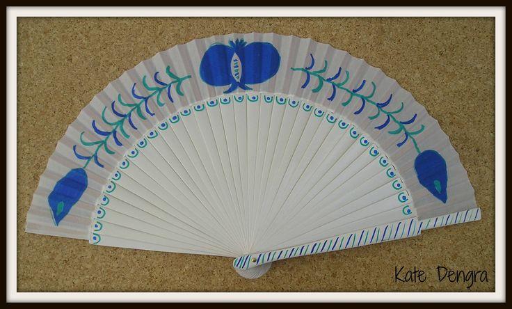 Granada Style Hand Fan by Kate Dengra
