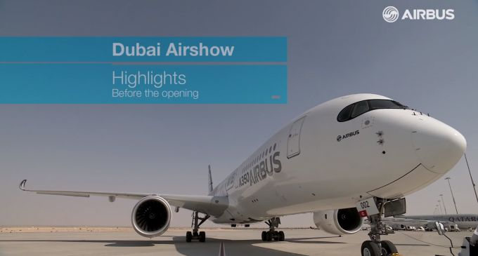 #Dubai #Airshow 2015 / Dubai Airshow 2015 – Getting ready for the show | Airlines Travel