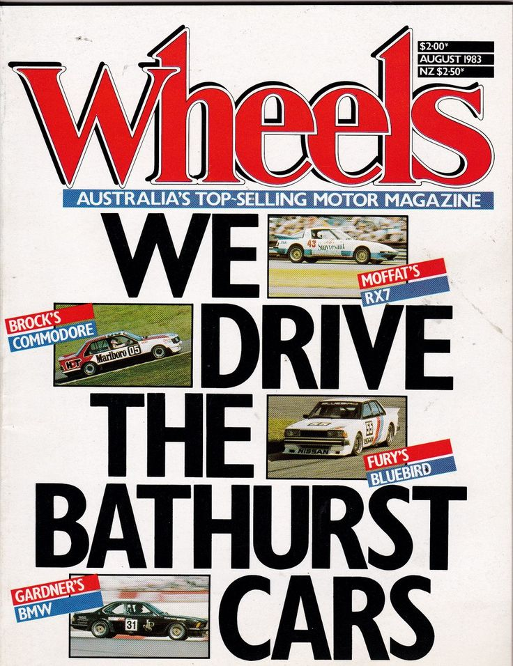 August 1983 Vintage Australian Wheels Magazine Birthday Gift Idea or Christmas Gift Idea for Him by SuesUpcyclednVintage on Etsy