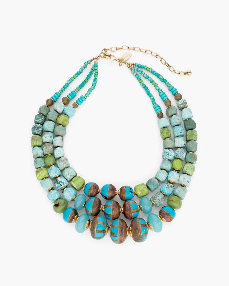 Chico's Women's Hilary Multi-Strand Necklace