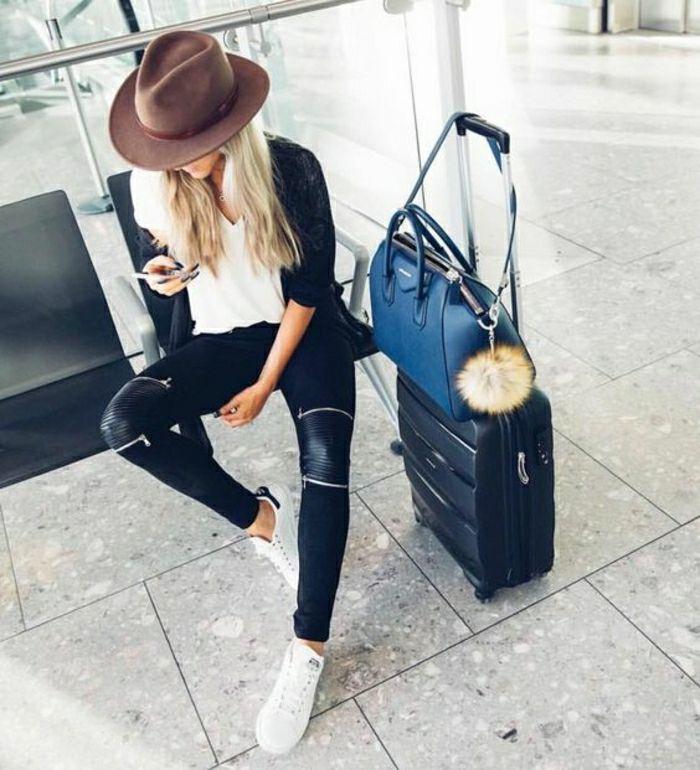 Conseil comment s'habiller prendre l'avion et se sentir confortable valise cabin