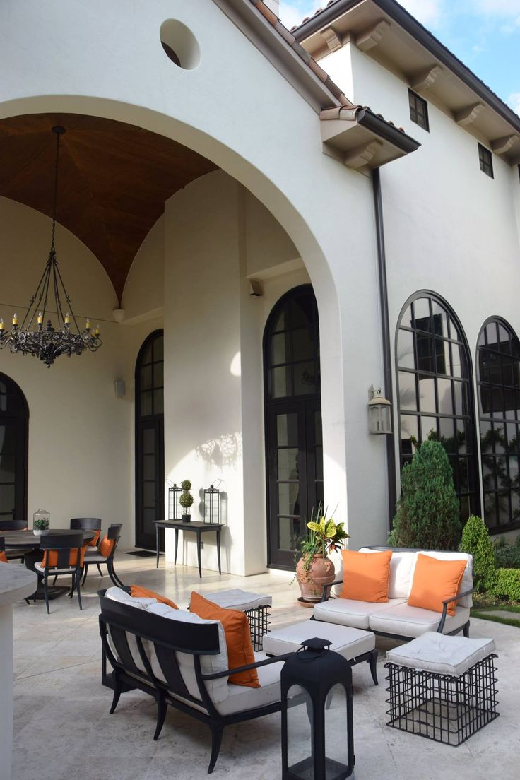 Charming Mediterranean Architecture, And Finally A Different Style Outdoor Furniture!
