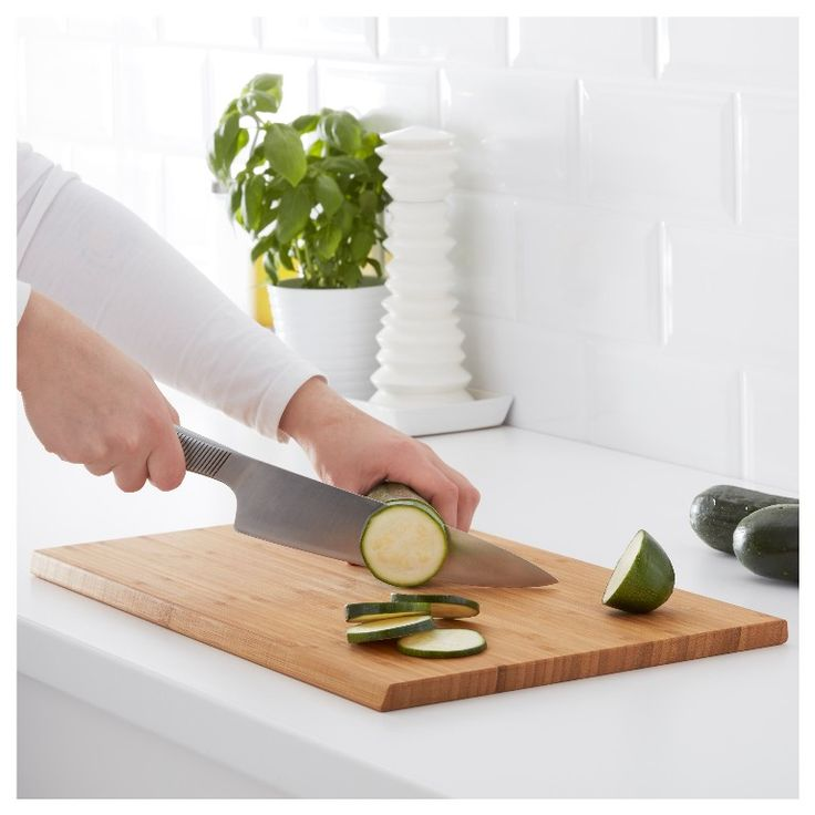 IKEA   APTITLIG, Chopping Board, You Can Easily Turn The Chopping Board And  Use Both Sides When You Prepare Food, Because It Has Easy To Grip Slanted  Edges.
