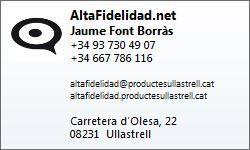 Contacte AltaFidelidad.Net