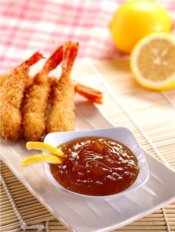 Udang Kelapa Saus Jeruk :: Coconut Crispy Prawn with Orange Marmalade