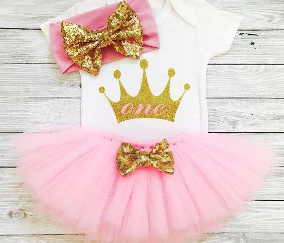 Primera trajes de cumpleaños primer cumpleaños niña primer