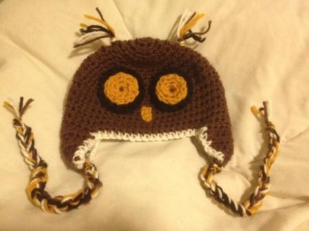 Baby Owl Hat Knitting Pattern Free : FREE BABY OWL HAT KNITTING PATTERN   KNITTING PATTERN