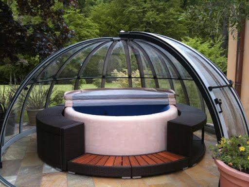 Stunning Softub Whirlpool u Whirlpools und Gartenpavillons