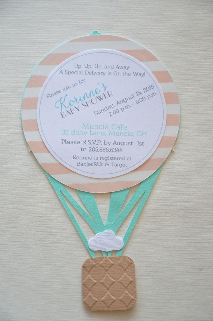 Ballon à air chaud invite parfait pour douche de bébé, baptême, baptême ou anniversaire. Montgolfière Aqua avec papier jolie dot a des accents de feuille dor, or bannière et nuage blanc. Infos page possède deux bandes de tonalité. Dinformations concernant invite : Taille : Invitation sinscrit dans une enveloppe de A7 (blanc inclu, couleur env. supplémentaires). CHOIX de papier : Beaucoup de couleurs solides disponibles, veuillez préciser votre palette de couleurs. Sil vous plaît visitez ma…