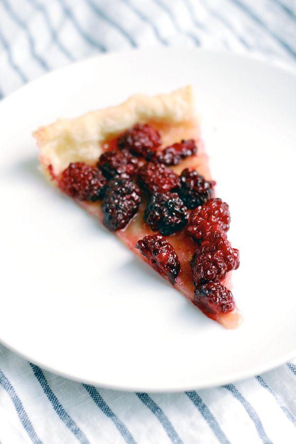 simplest blackberry tart // brooklyn supper
