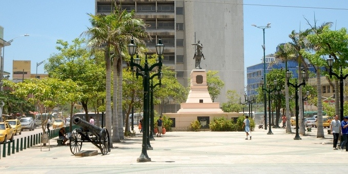 Paseo Bolívar -Barranquilla
