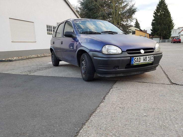 Opel Corsa B 1,4i mit Schiebedach 67549 Worms blau metallic Tüv ohne