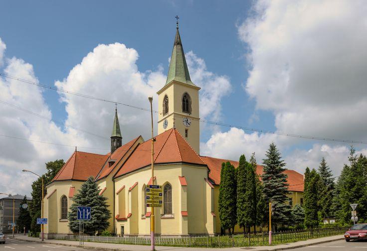 Gotický Rímokatolický kostol v Humennom