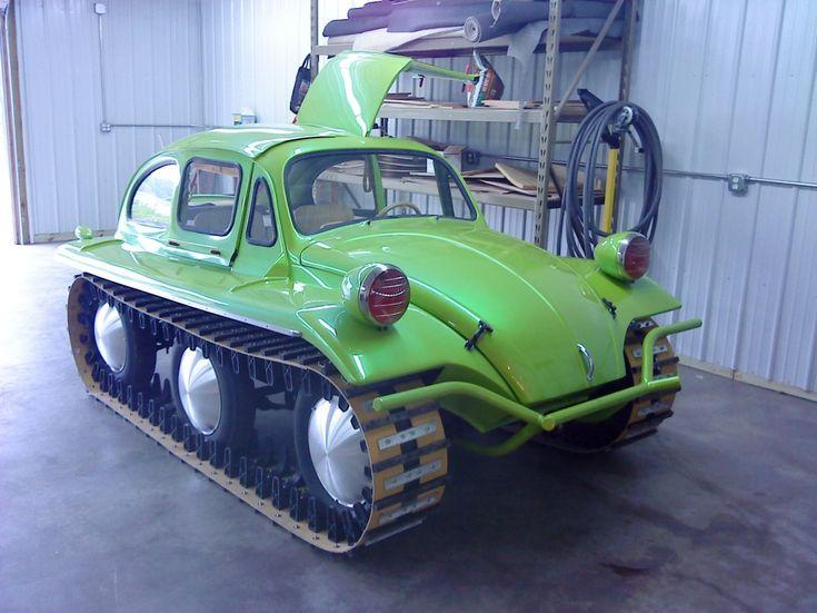 All-terrain Tank VW bug